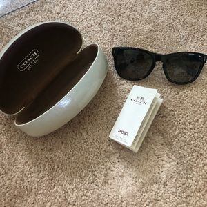 Authentic coach dollie sunglasses